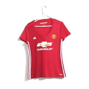 Adidas Manchester United Soccer Shirt Size L